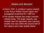 alaska and aleutian