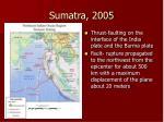 sumatra 2005