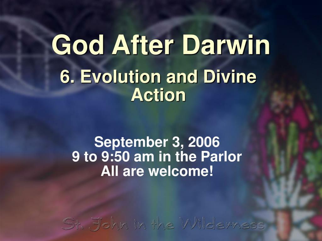 god after darwin l.