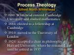 process theology alfred north whitehead16