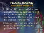 process theology alfred north whitehead17