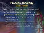 process theology god s power