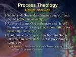 process theology nature and god19