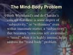 the mind body problem37