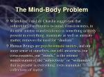 the mind body problem40