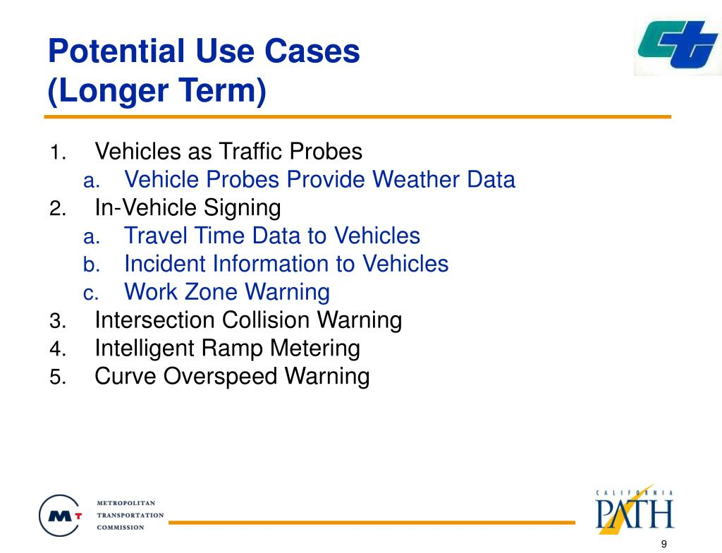 Potential Use Cases
