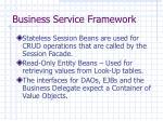 business service framework27