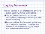 logging framework