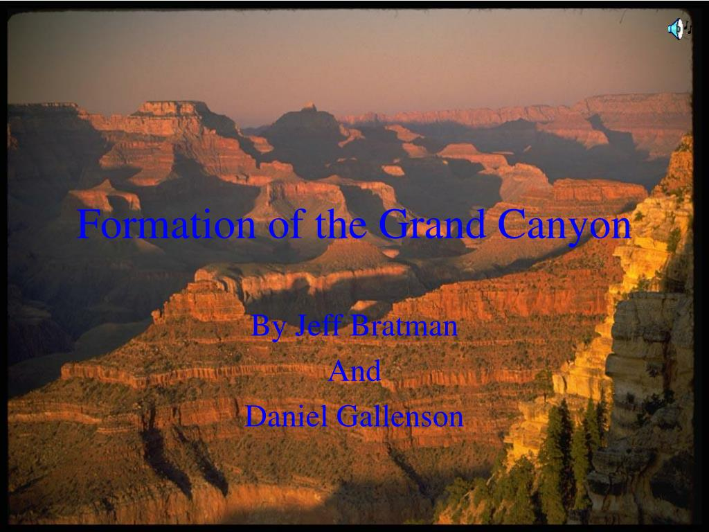formation of the grand canyon l.