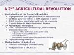 a 2 nd agricultural revolution