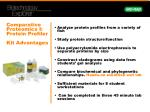 comparative proteomics i protein profiler kit advantages