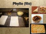 phyllo filo