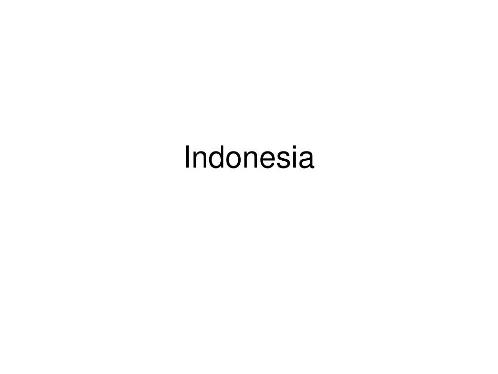 indonesia l.