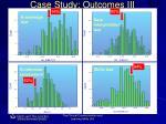 case study outcomes iii