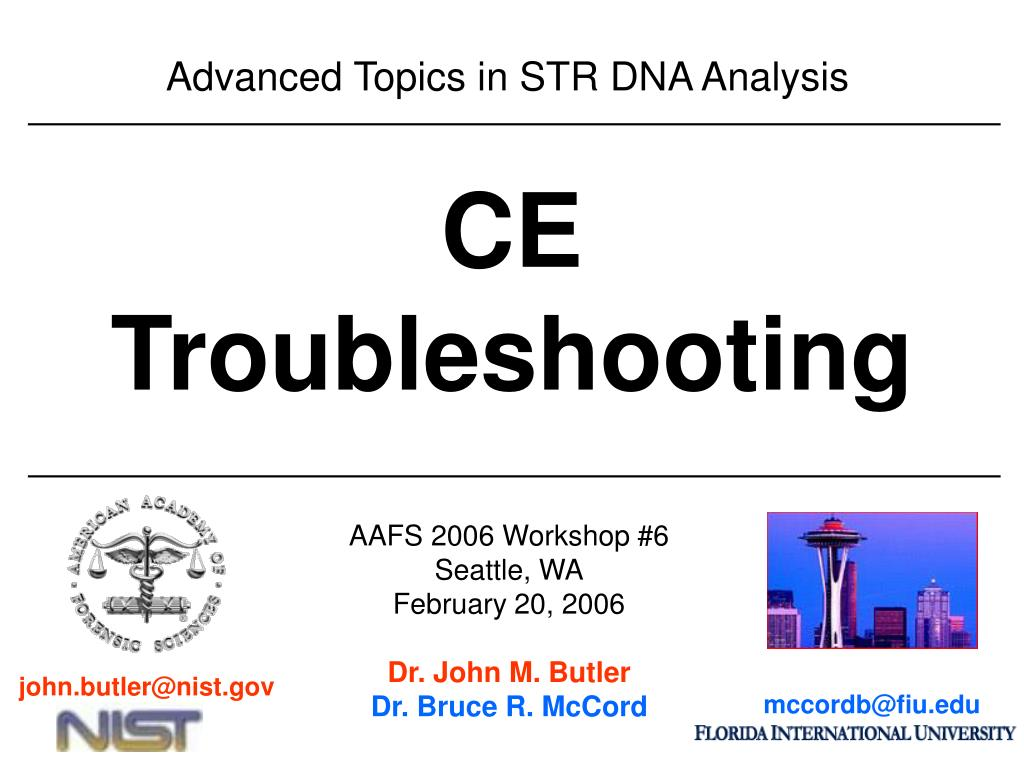 advanced topics in str dna analysis l.