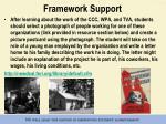 framework support10