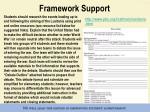 framework support6