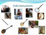 folk instruments