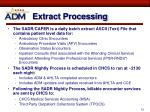 extract processing