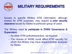 military requirements11