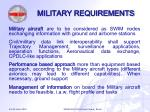 military requirements13