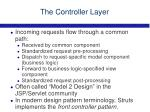 the controller layer