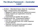 the struts framework controller layer21