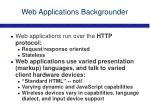 web applications backgrounder4