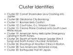 cluster identities