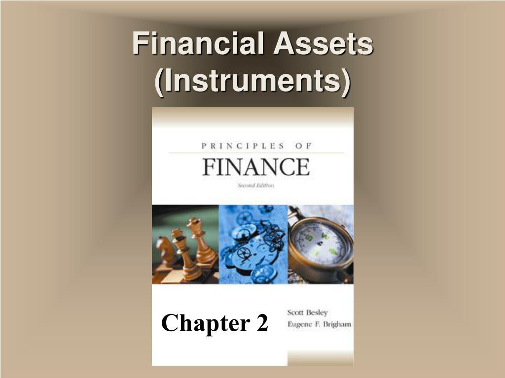 financial assets instruments l.