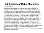 2 3 analysis of major characters