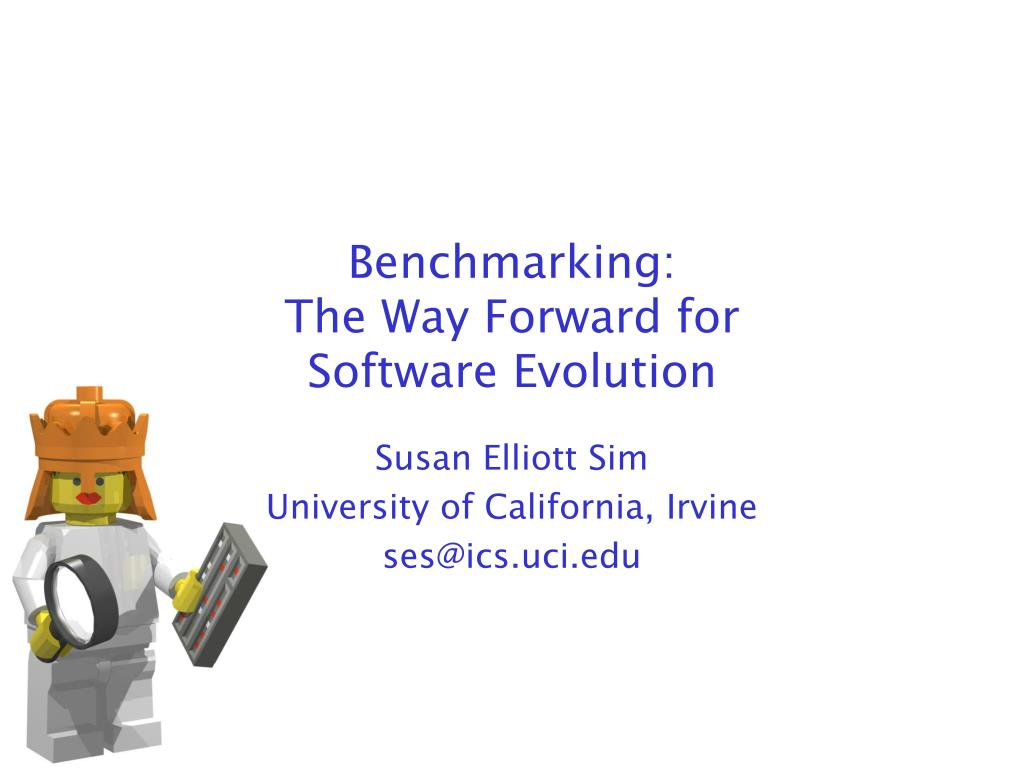 benchmarking the way forward for software evolution l.