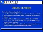 history of amrep