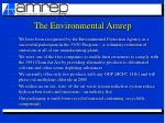 the environmental amrep