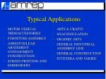 typical applications