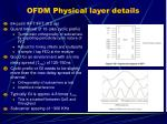 ofdm physical layer details