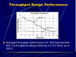 throughput range performance15