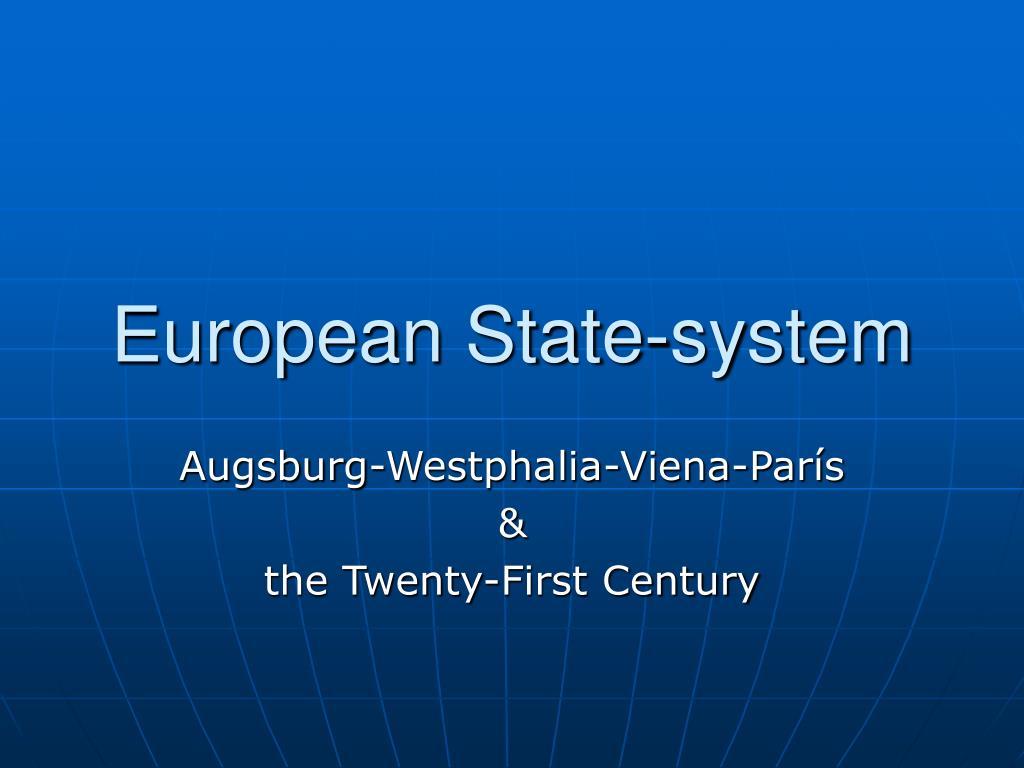 european state system l.