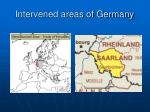 intervened areas of germany