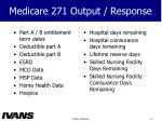 medicare 271 output response