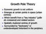 growth pole theory