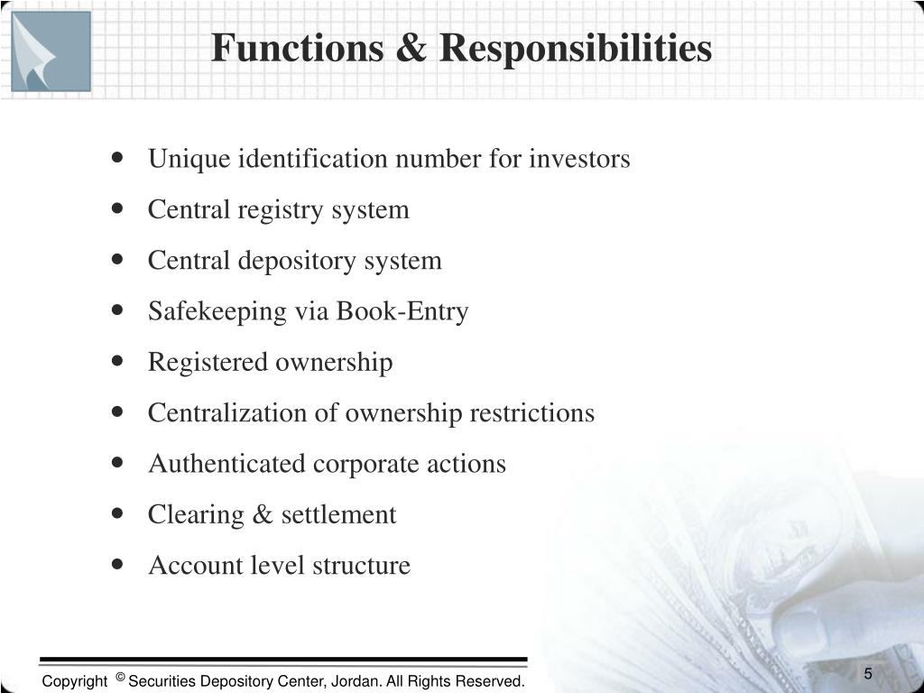 Functions & Responsibilities