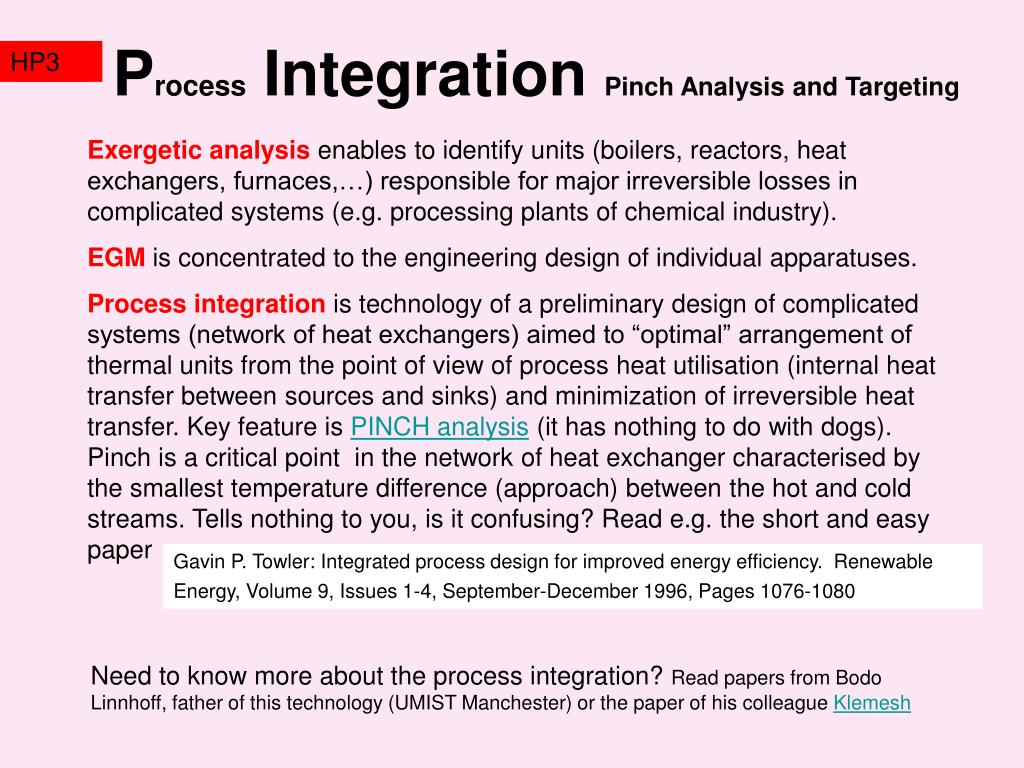 """the importance of heat integration in distillation columns engineering essay Distillation column design and analysis """"heat factor"""" of q/d^2 = 350,000 encyclopedia of chemical engineering."""