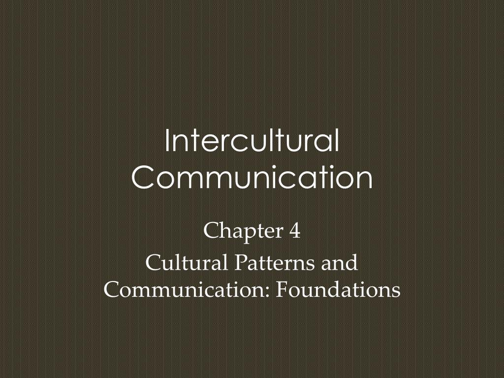 intercultural communication l.
