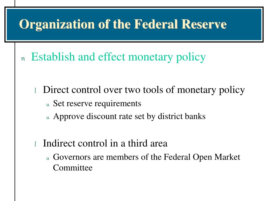 an overview of the federal reserve and monetary police term paper Free federal reserve system monetary police and the federal reserve - according to david nicklaus of the st louis for this final term paper.