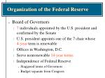 organization of the federal reserve8