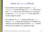order of catch blocks14