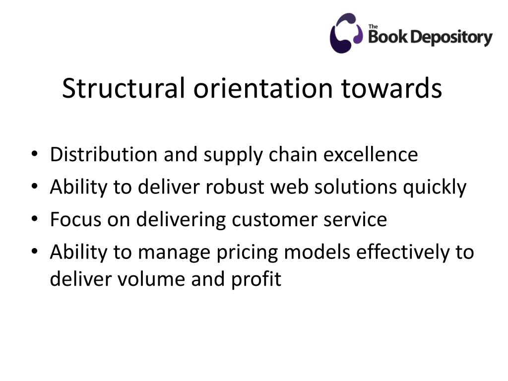 Structural orientation towards