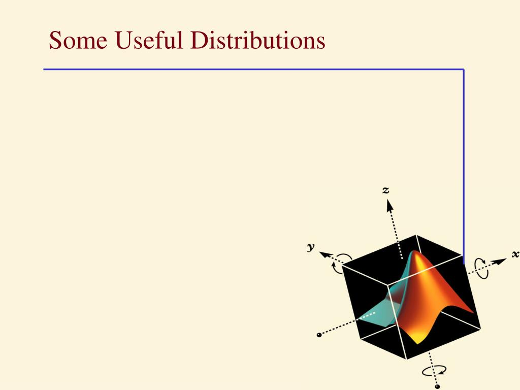 some useful distributions l.