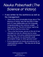 nauka pobezhadt the science of victory